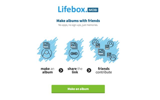 Lifebox 建立一個能與好友共同協作、上傳相片的網路免費相簿