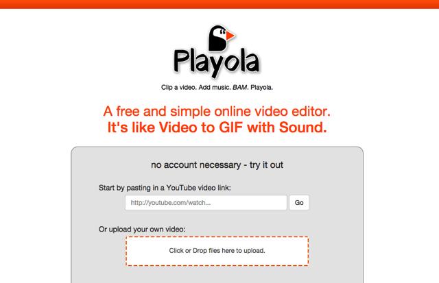 Playola 將 YouTube 影片剪輯為 30 秒短片,可擷取畫面、加入不同音樂音效