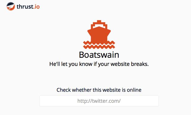 Boatswain 雲端監控網頁服務,無法連線或內容變化時自動發送 Tweet 通知