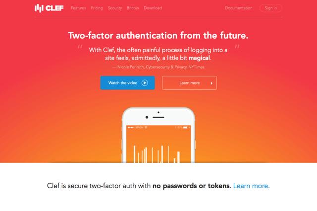 Clef 讓你登入 WordPress 網站免輸入帳號密碼,全新兩步驟驗證自動登入超安全! via @freegroup