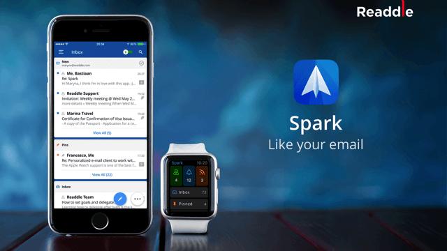 Spark 全新智慧型手機郵件 App,更聰明的 Email 處理方式(iOS 應用程式) via @freegroup