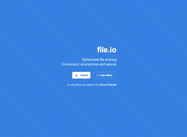 File.io 短暫檔案共享服務,最方便、匿名且安全的選擇(支援單檔 1 GB 以內)