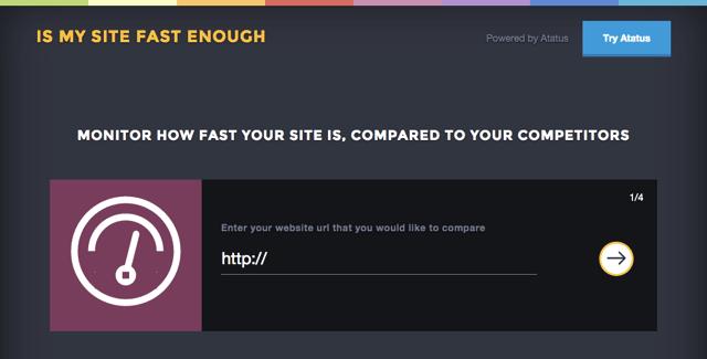 Is My Site Fast Enough 檢測你的網站速度,與競爭者比較各項目數據 via @freegroup