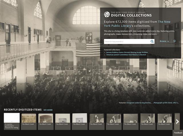 紐約公共圖書館開放 18 萬張歷史照片、地圖、信件高畫質照片免費下載