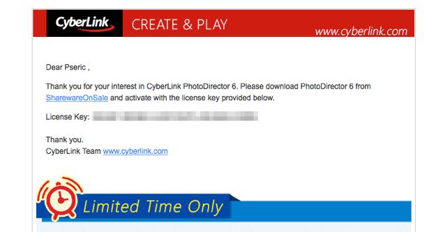限時免費下載!相片大師 PhotoDirector 6 Deluxe 中文版,原價 49.99 美元不抓可惜