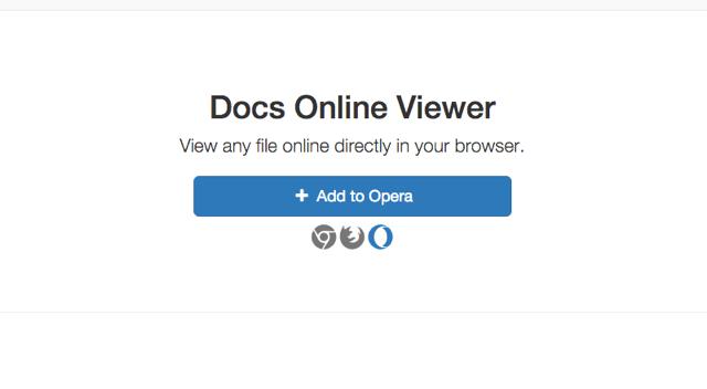 Docs Online Viewer 直接在瀏覽器檢視任何檔案格式,例如 Office、向量圖...