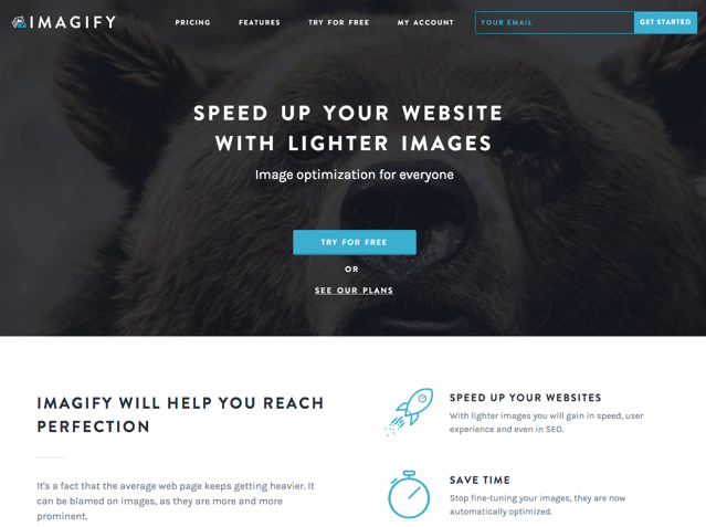 Imagify 免費線上圖片壓縮服務,三種模式切換壓縮比畫質