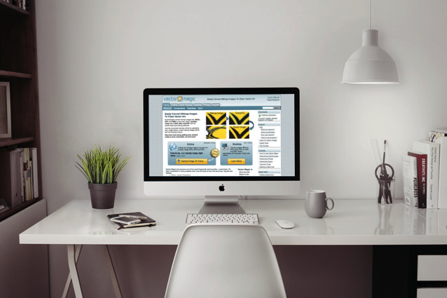 Vector Magic 免費點陣圖轉檔向量圖線上工具,支援 EPS、SVG 和 PDF