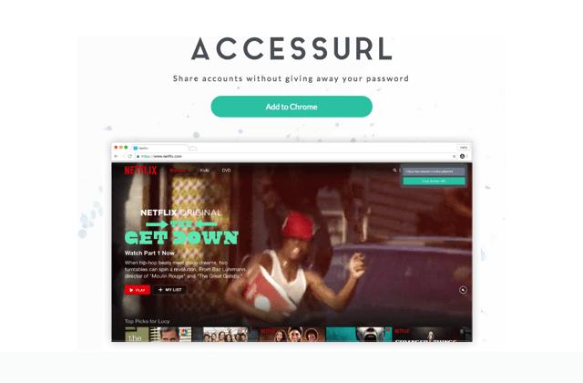 AccessURL 和其他人共用網路服務帳號,無須告訴對方密碼(Chrome 擴充功能)