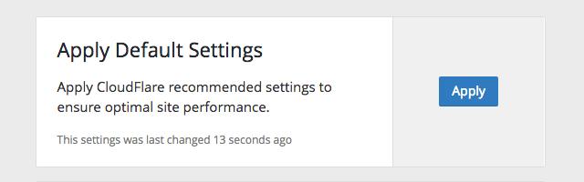 CloudFlare 免費 WordPress 外掛下載,一鍵為網站快速套用最佳化設定