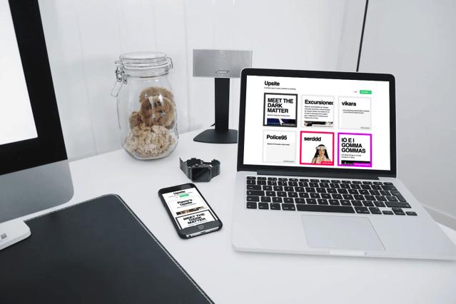 Upsite 漂亮的免費架站平台,支援 Markdown 輕鬆打造回應式網頁設計 via @freegroup