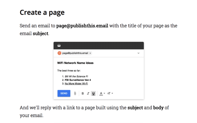 Publishthis.email