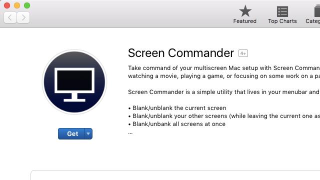 Screen Commander