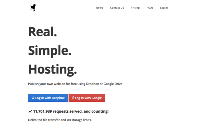 UpDog.co 讓 Dropbox、Google 雲端硬碟變成免費網站空間,支援 SSL 可自訂網域名稱