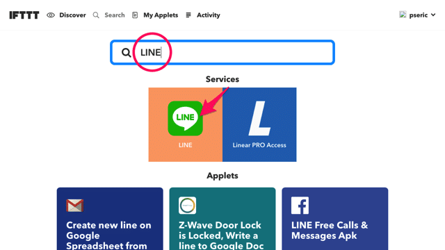LINE Notify Facebook RSS Feed