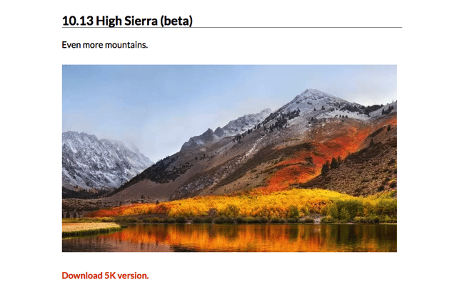 Every Default macOS Wallpaper – in Glorious 5K Resolution