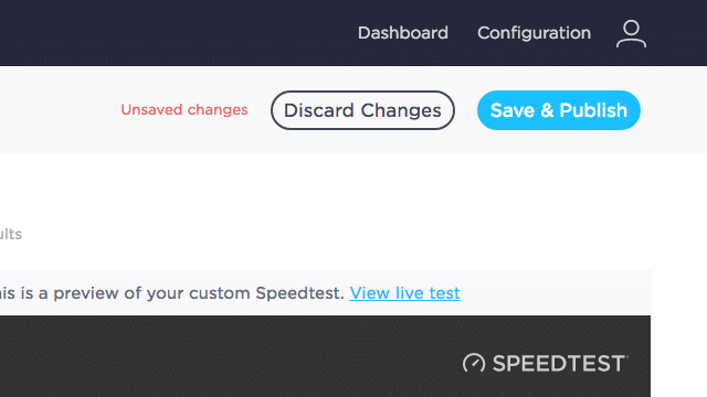 Speedtest Custom