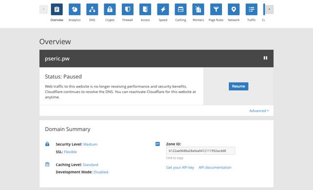 將 Cloudflare 做為免費 DNS 不開啟 CDN 或 WAF 加速防護功能