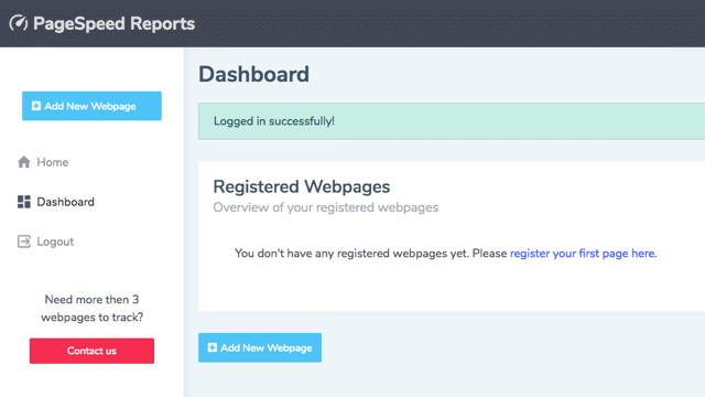 PageSpeed Reports