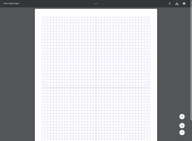 Plain Graph Paper PDF Generator