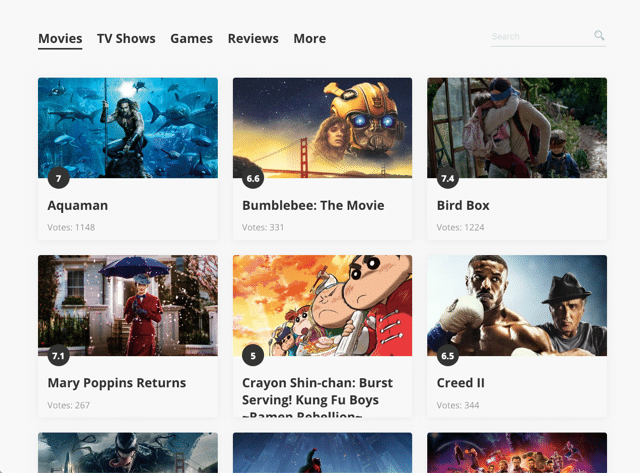 RaterFox 在瀏覽器分頁顯示最新電影和影集海報資訊(Chrome 擴充功能)