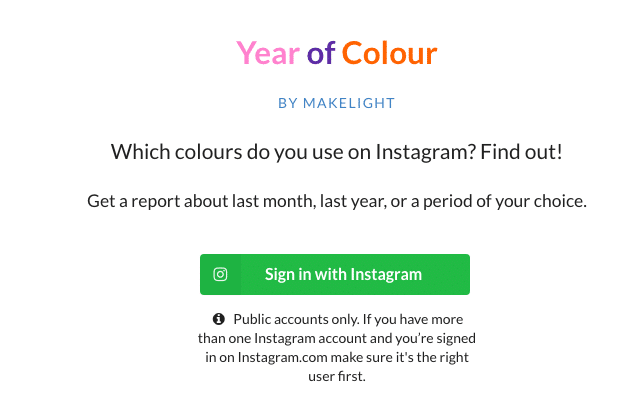 Year of Colour