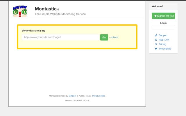 Montastic 老牌免費網站監測服務,發生錯誤時發送 Email 通知