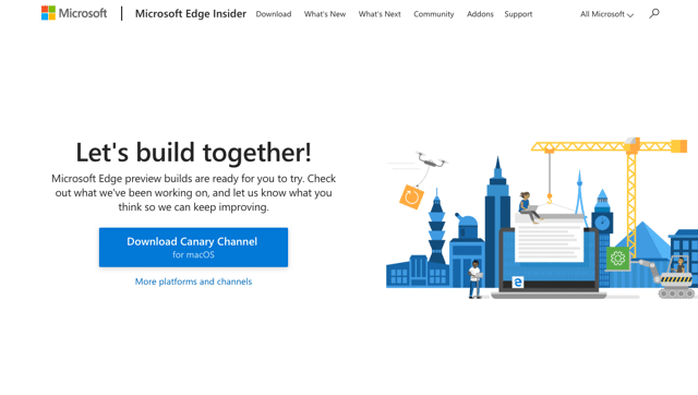 Microsoft Edge 推出 macOS 版本下載,全新微軟瀏覽器登上蘋果