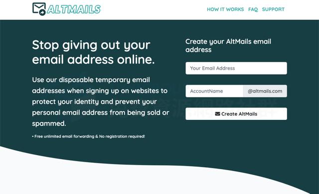 TempMail.altmails