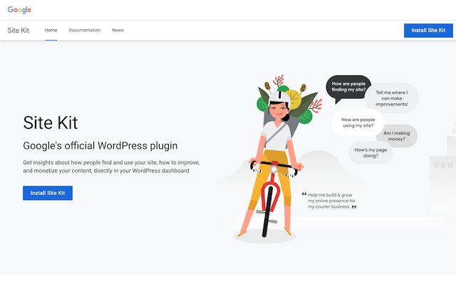 Site Kit by Google 官方 WordPress 外掛開放下載,常用站長工具整合網站