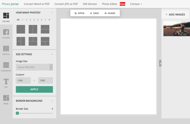 PhotoJoiner 免費線上相片拼貼工具免下載安裝 App