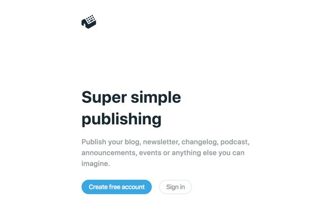 Typehut 最簡單的內容發佈工具,支援 Markdown 語法可自訂網址