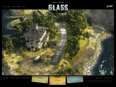 Get the Glass! 遊戲主畫面