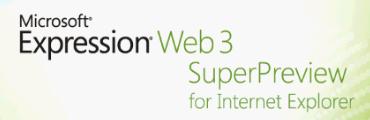 Microsoft Expression Web 3 SuperPreview for Internet Explorer