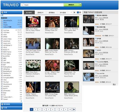 左方可以過濾頻道,或是找出最新、最受歡迎、評分最高的影片