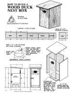 wood duck bird house plans | rightful73vke