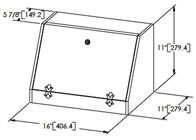 Build DIY Simple bread box plans PDF Plans Wooden rustic