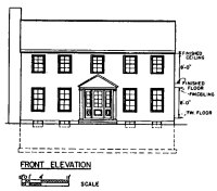 Free Colonial House Plans | Colonial House Floor Plans
