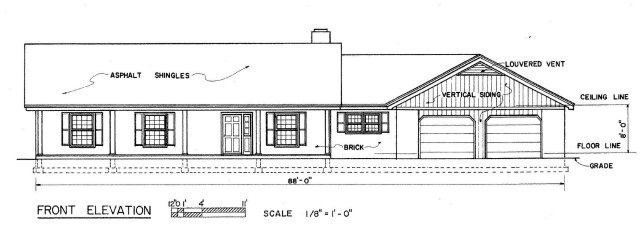 3-Bedroom Ranch House Plans