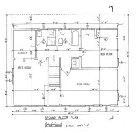 Free Saltbox House Plans | Saltbox House Floor Plans