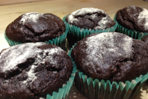 Chocolate (chickpea) Muffins!!!