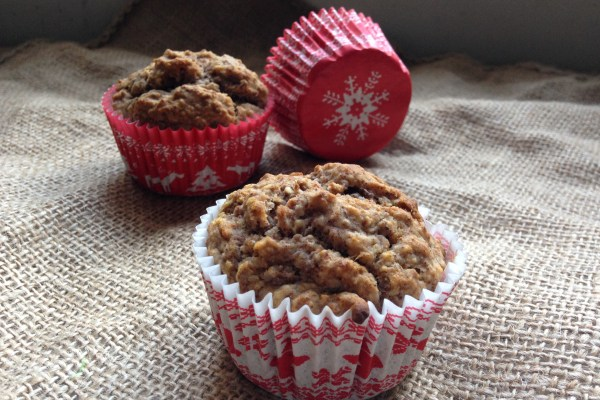 spiced apple & chia vegan gluten-free muffins