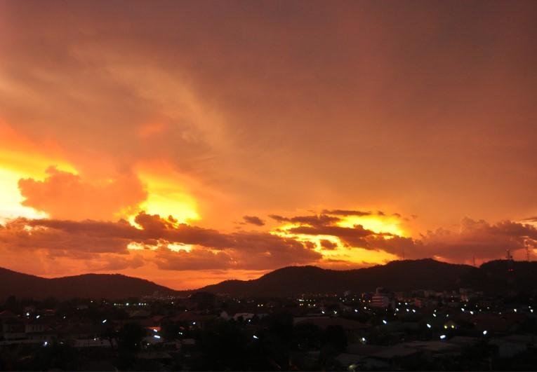 Sunset Hua Hin Unedited