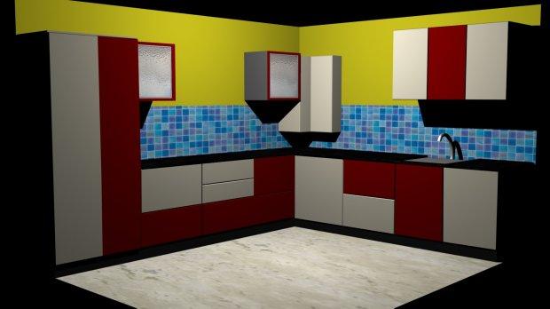 modular kitchen interior free