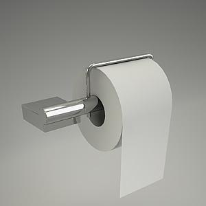 AQA toilet paper holder 4897105_3  KLUDI  Free 3d