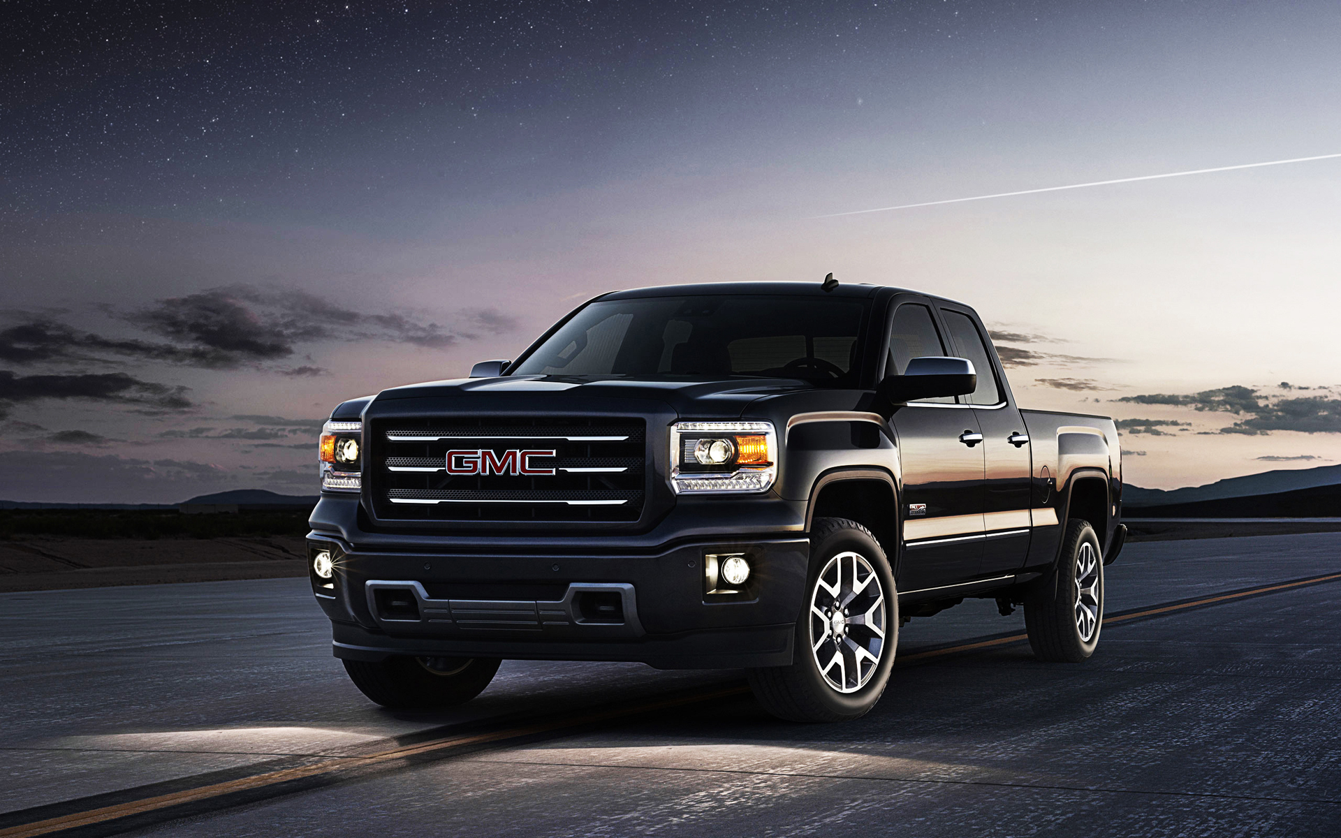 From traditional simple landscape backgrounds to unique, classy 3d … GMC Car in the Night HD wallpaper