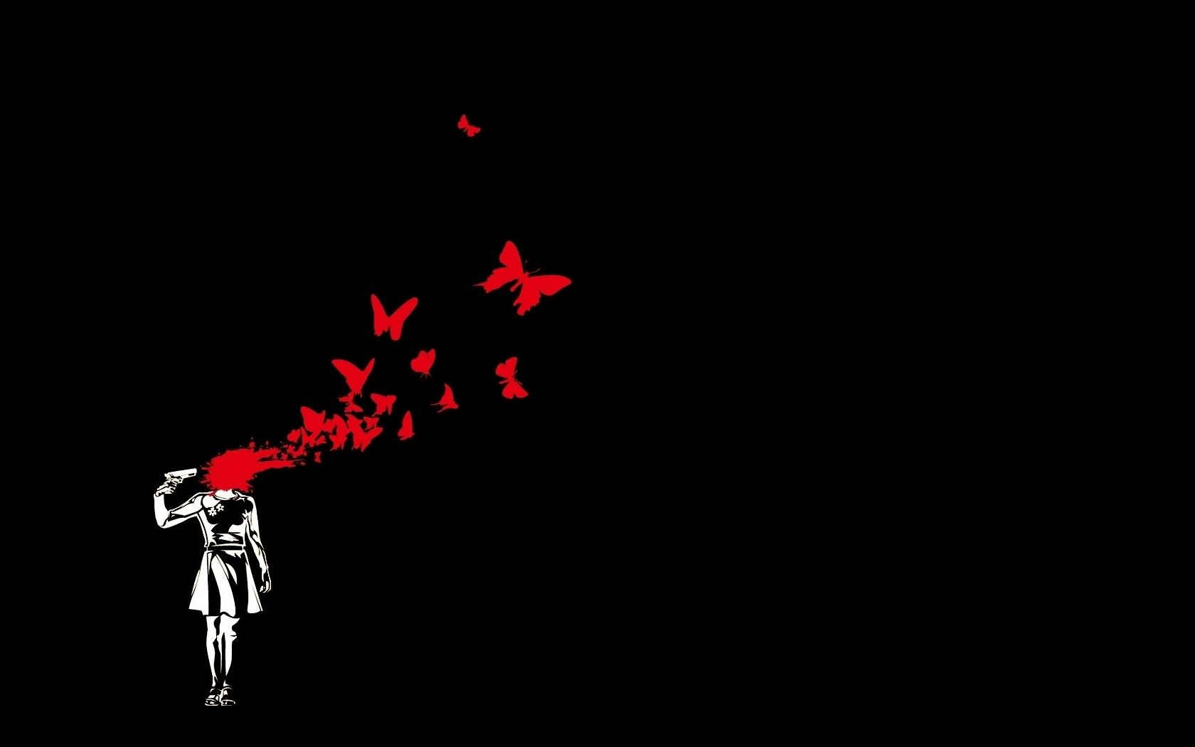 anime black background hd