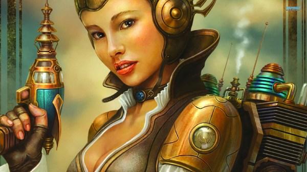 Steampunk Girl Hd Wallpaper