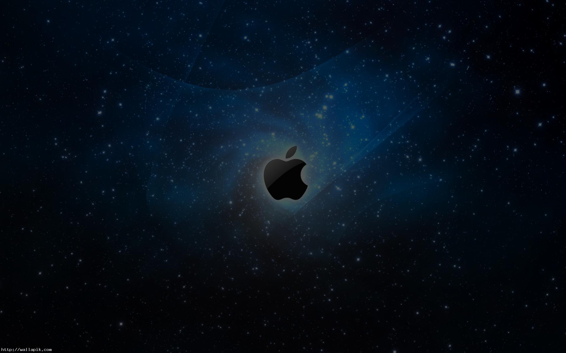 galaxy apple logo hd hd wallpaper