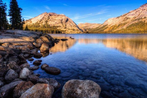 Tenaya Lake Yosemite National Park California 4k Wallpaper